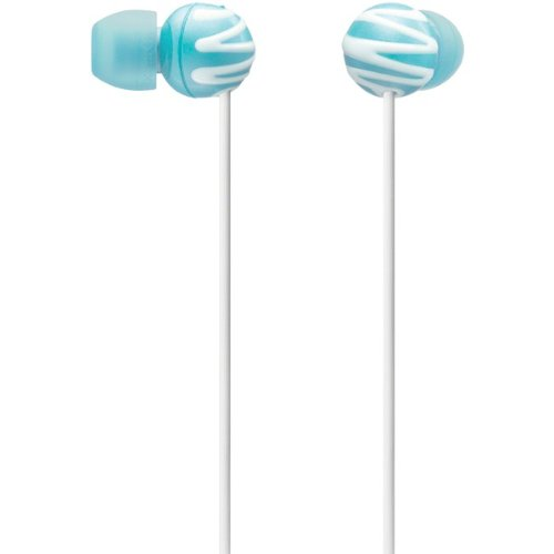Sony Mdrex25lpblu Fashion In-ear Earbuds (blue) fashion professional in ear earphones light blue black 3 5mm plug 120cm cable