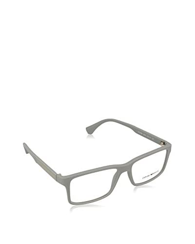 Emporio Armani Gestell Mod. 3038 525154 GREY RUBBER WITH-LENS