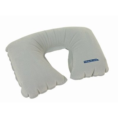 Travelon 02049-51 Inflatable Pillow - Gray PVC