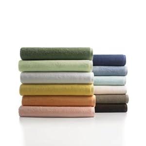 "Martha Stewart Collection ""Low-Twist"" Bath Towel, 30"" x 56"" Kiwi"