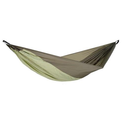 Amazonas Silk Traveller Thermo-La hängemattte ultraleggera con diagonlen scomparto da per lettino isomatten sull' uso della brasiliane, tecnologia brevettata