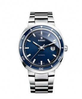 Rado D Star Blue Dial Stainless Steel Mens Watch R15960203