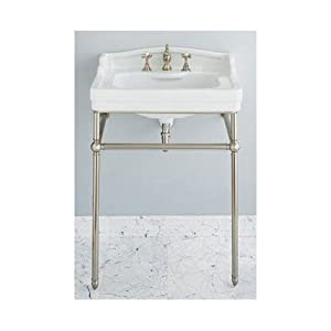 Console Sink Stand Chrome Interior Decorating