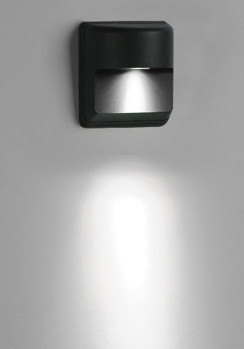 Goledgo 24Pack Led Decorative Wall Light, 1X1W, Outdoor Light Waterproof Ip65, Led Single Color, Ac90-260V, Matt Black Finish As Standard. It Is For Wall Decor Of Building Light, Villa Light, Park Light, Garden Light, Hotel Light, Ktv Light; (Price+Free S