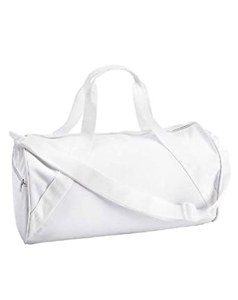 Liberty Bags 8805 Barrel Duffel - One Size - White