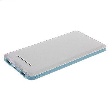 10000mAh Ultrathin MultiOutput External Battery Blue for Photo