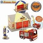 Sam le Pompier - Caserne + Camion de Sam le pompier