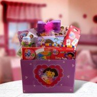 Nickelodeon Presents Dora the Explorer Gift Basket for Girls