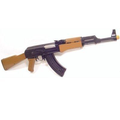 Ak47 Airsoft Gun Ak-47 Full Automatic Electric AEG Rifle Gun w/ Mag Capacity 250 BBs (Ak 47 Airsoft Gun Electric compare prices)