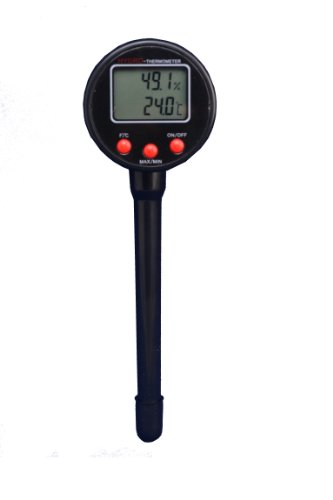 ScichemTech THYG-PEN 2 Thermo Hygrometer Moving Head Pocket Type 20 TO 100% RH Digital readout - 1