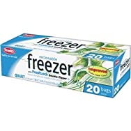 Presto Products GKL0061 Presto Reclosable Freezer Bag-QT RECLOSE FREEZER BAG