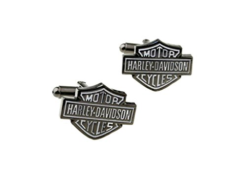 Harley Davidson Logo Motor Cycles Auto Groomsman Wedding Cufflinks with Gift Box From Outlander