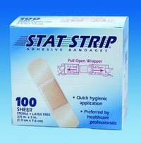 15200 Bandage Stat Strip Wound LF Sterile Sheer