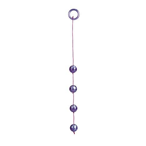 California-Exotic-Novelties-Cristalline-Beads-Violet-Moyen