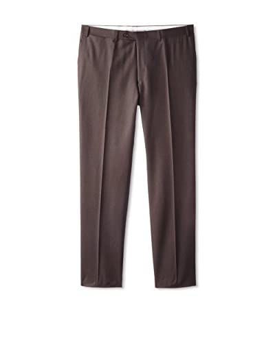 Canali Men's Solid Trouser