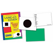Lang-O-Learn Cards - Shapes and Colors