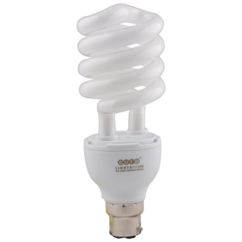25 Watt Spiral CFL Bulb (Pack of 3)