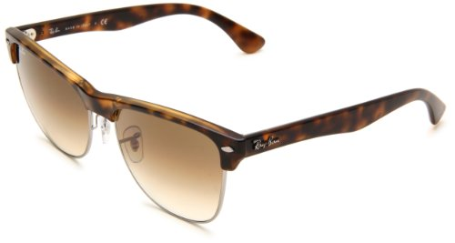 Ray-Ban 0RB4175 0RB4175 Square Sunglasses,Demi Shiny Havana Frame/Brown Gradient Lens,57 mm