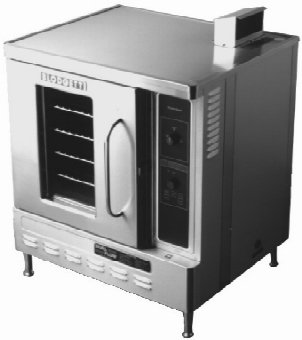 Blodgett Dfg50 Single Half Size Gas Convection Oven, Ng, Each