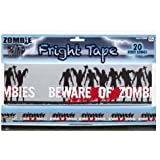 Beware of Zombie Fright Tape 20ft