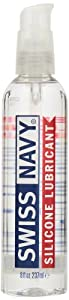 MD Science Labs Swiss Navy Silicone Personal Lubricant, 8 Ounces