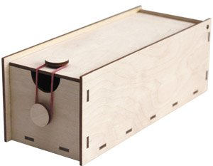 Karteikasten DIN A8 Holz Bausatz