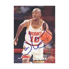 Sam Cassell Houston Rockets 1994 Topps Stadium Club Autographed Hand Signed Trading... by Hall of Fame Memorabilia