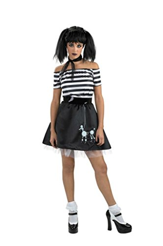 Disguise Womens Retro Boodle Bones 50'S Gothic Theme Party Halloween Costume