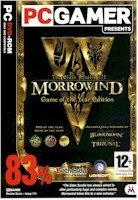Morrowind, Game of the Year Edition, Elder Scrolls 3, Includes Tribunal & Bloodmoon Expansions