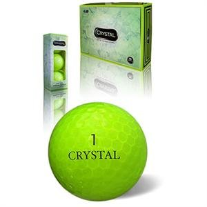 "* COLOR!* Crystal Golf ""Flash Green"",pack of 12"
