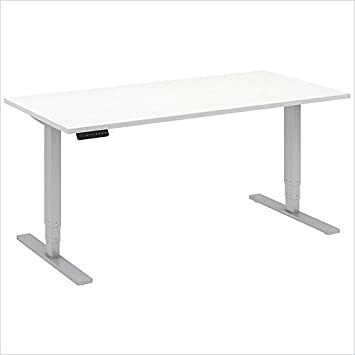 Bush BBF 60W x 30D Height Adjustable Table Kit in White