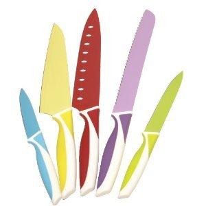 Coffret de 5 couteaux en acier inoxydable