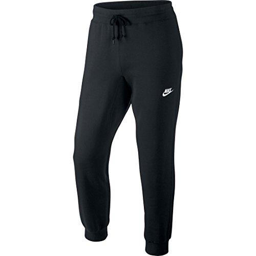 Nike Nike Aw77 Cuff Flc Pantaloni, Nero/Bianco, S