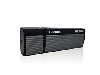 【64GB】 TOSHIBA/東芝 USBメモリー TransMemory-MX USB3.0対応 読取速度高速130MB/s ブラック 海外リテール V3OMX-064GT