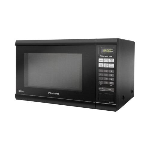 Panasonic Nnsn651B Black Microwave Countertop 1.2Cf 1200Watts