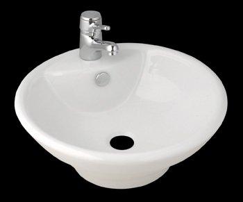 Buy Vessel Sinks White Vitreous China, Pellegrino Vessel Sink White (Renovator's Supply Sinks, Plumbing, Sinks)