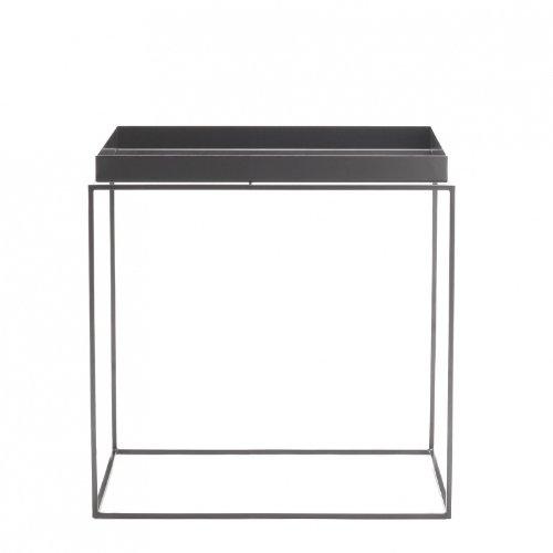 HAY Tray Table Beistelltisch, grau 40x40x44cm