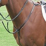 Shires Blenheim Hunt Weight Breastplate-Black - Cob