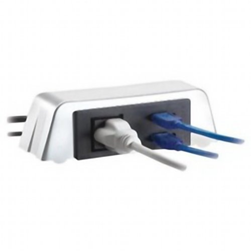 Rolodex Combo 2.0 Usb Hub And Power Outlet