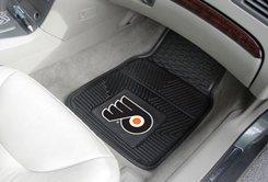 Philadelphia Flyers Heavy Duty Vinyl Front Seat 2 Piece Car Mat Set front-477407