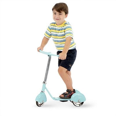 Retro Scooter Color: Baby Blue