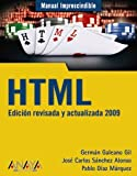 img - for HTML 2009 (Manual Imprescindible/ Essential Guide) (Spanish Edition) book / textbook / text book