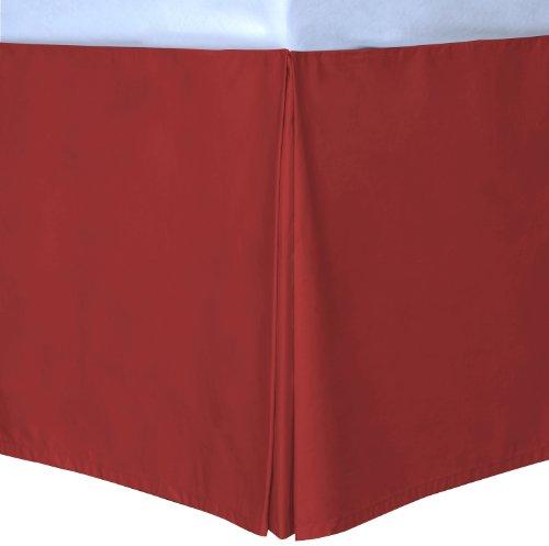 Scarlet King Cottonloft Colors Bed Skirt front-169715