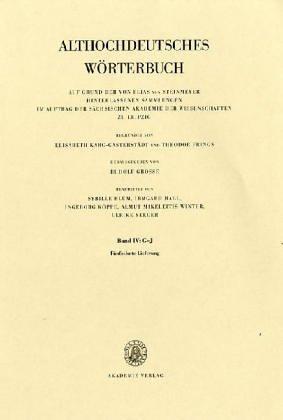 Althochdeutsches Wörterbuch: Band IV: G-J, 15. Lieferung (himil bis hîuuiski)