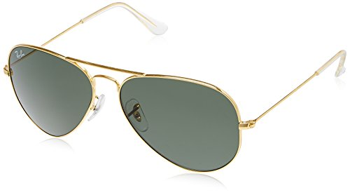 price ray ban sunglasses  Ray-Ban Aviator Sunglasses (Gold) (RB3025 L020558): Amazon.in ...