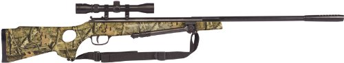 Winchester Ideal 1400CS .177 Caliber Break-Barrel Air Rifle with Scope/Bi-Pod/Heave, Mossy Oak