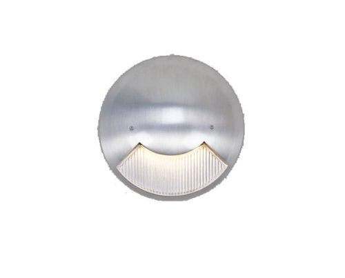 Csl Lighting Ss3000-Sa 3000 Series Ada Led Steplight, Satin Aluminum Finish