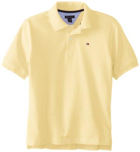 Tommy Hilfiger Boys 8-20 Ivy Spring Polo Shirt, Banana, Small