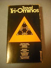Vintage 1980 Travel Tri-Ominos - 1