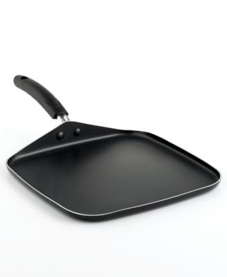 MARTHA STEWART COLLECTION GRIDDLE 11 SQUARE BLACK